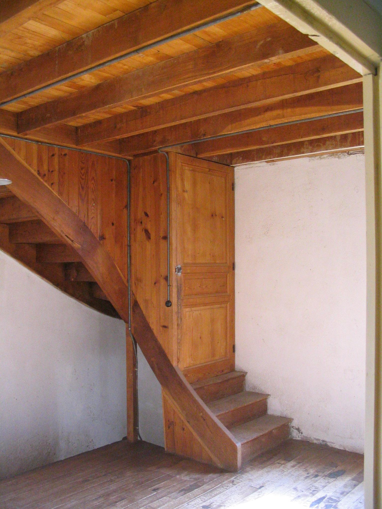 De trap naar zolder