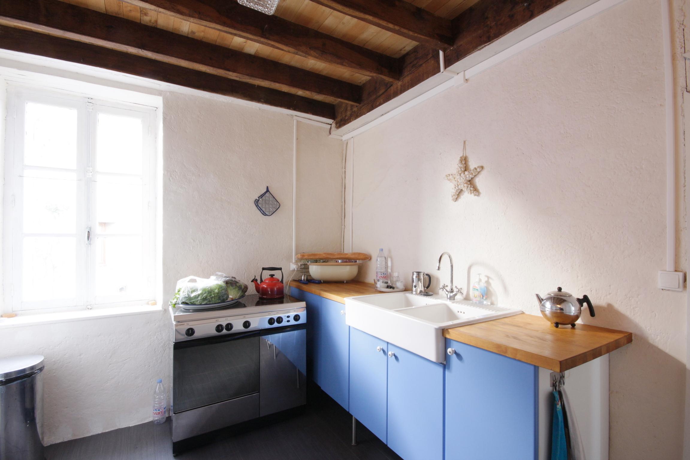Keuken met oven