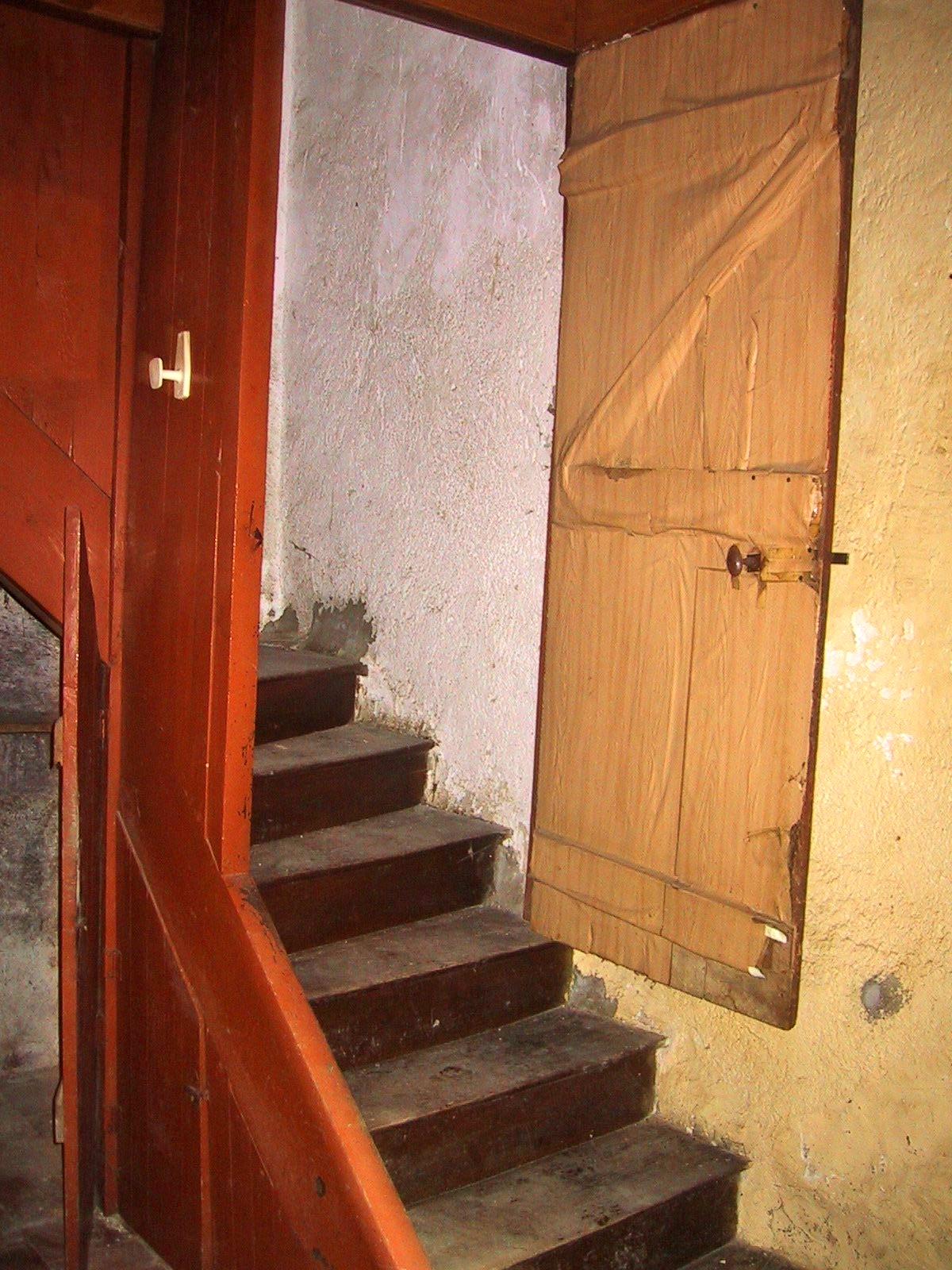 Trapopgang beneden